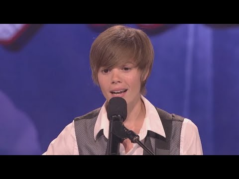 Beiber Look-a-like Dani Shay - America's Got Talent  Audition - Season 6