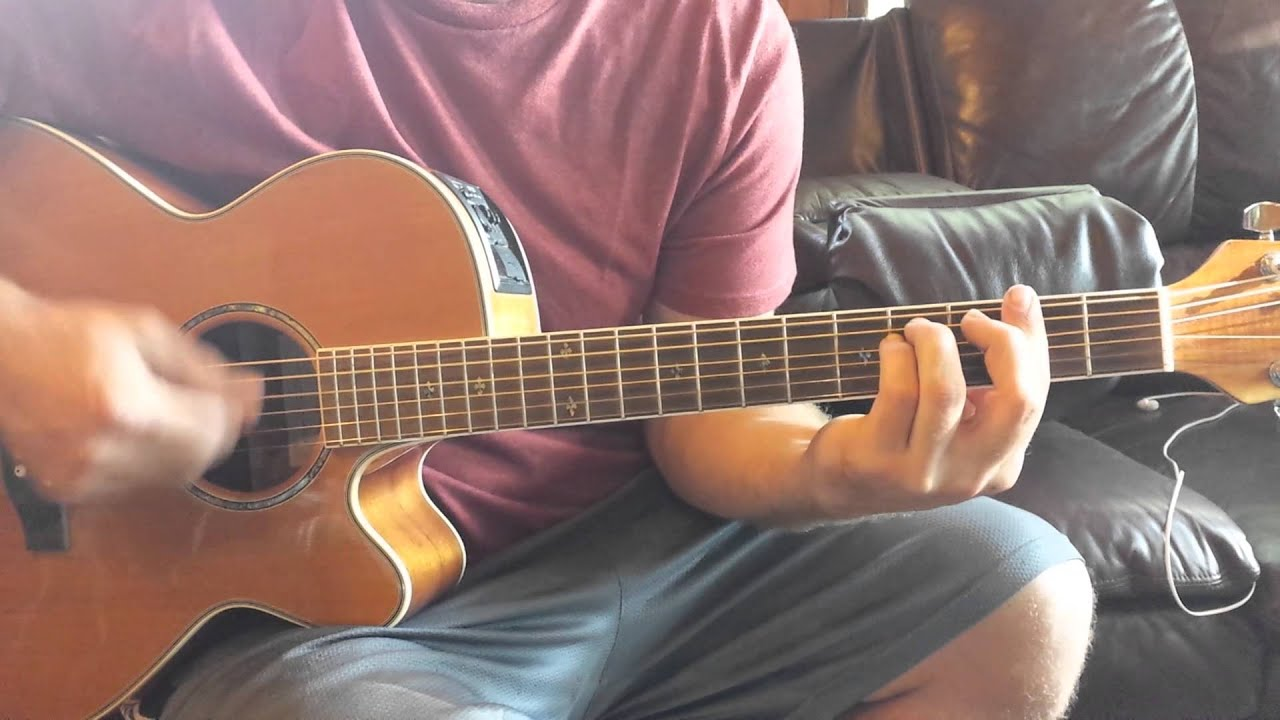 How To Play Eavesdrop By The Civil Wars Youtube