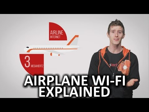 How Does Airplane Wi-Fi Work?