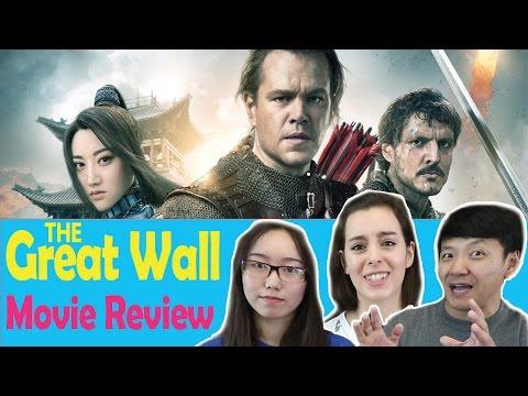 Matt Damon's Great Wall Movie Crumbles