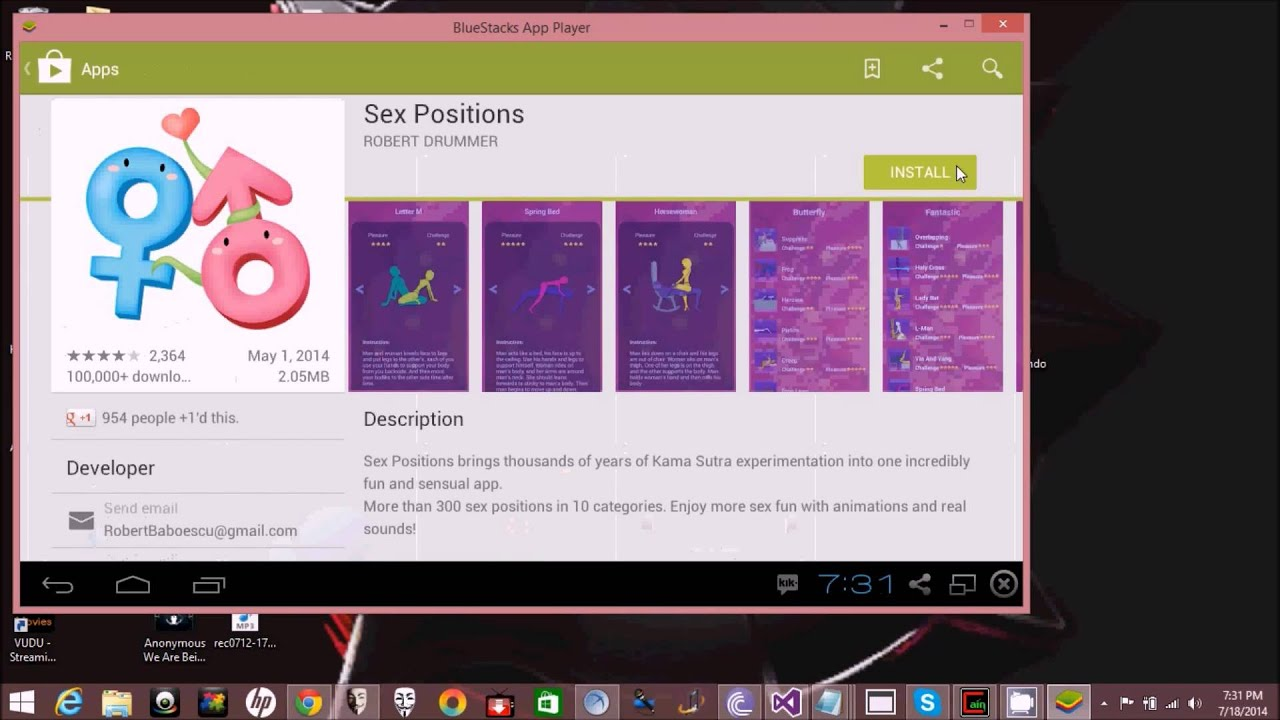 Sex position app download