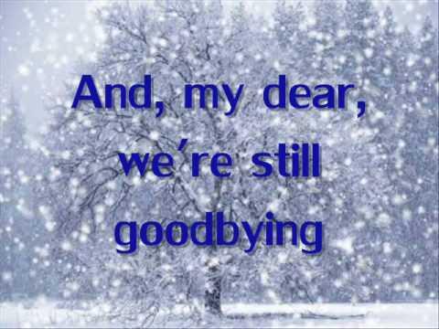 Let It Snow- Anna Margaret (lyrics on Screen)