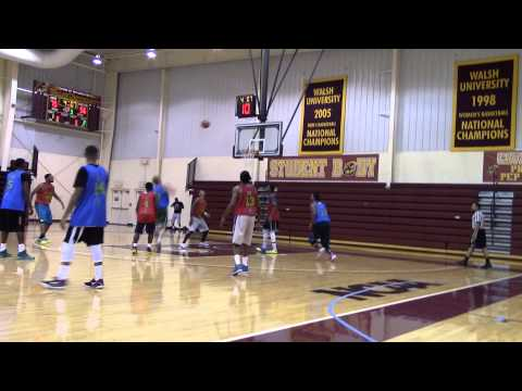 2014 Akron Canton Am Pro Basketball Summer League Jumpman vs