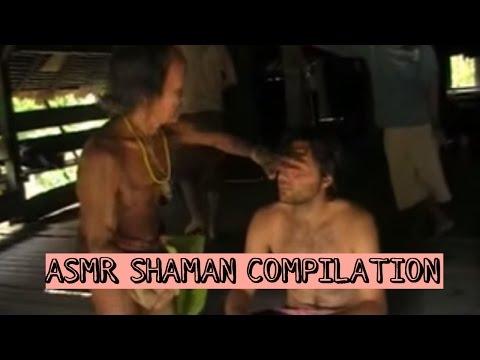 ASMR Shaman compilation - Varios rituais de limpeza espiritual