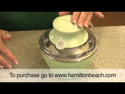 Hamilton Beach® Half Pint™ Soft Serve Ice Cream Maker (68550E, 68551E & 68552E)