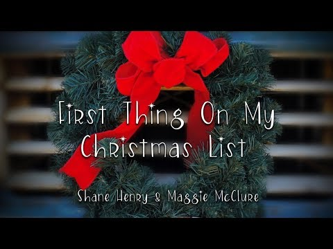 First Thing On My Christmas List Official Music Video The Imaginaries Maggie McClure and Shane Henry