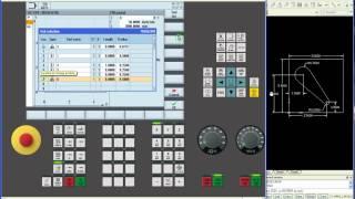 Siemens 840Dsl, 828D ShopMill  Контурное программирование в SinuTrain Operate
