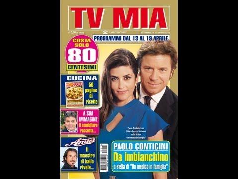 Rivista tv mia Intervista a Paolo Conticini e Chiara Gensini nella fiction un medico in famiglia 8