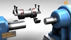 Sichere Verbindung: Montage-/Demontage von KTR Kupplungen in einer Pumpeneinheit