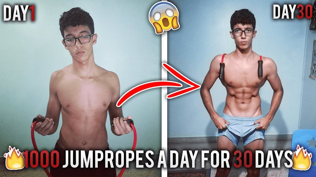 Jump Rope Transformation 30 Days Youtube