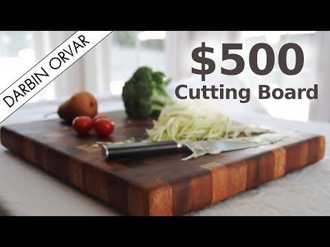 Making a $500 Cutting Board w/ Tropical Wood