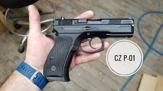 CZ - USA CZ75 P-01 DECOCKER - 9mm