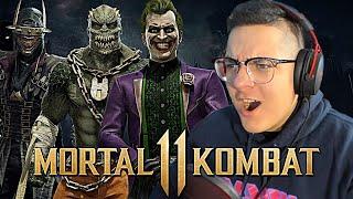 Mortal Kombat 11 - JOKER GAMEPLAY TRAILER REACTION!