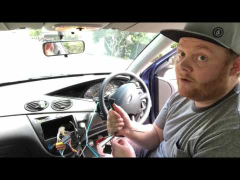 Installing An After-market Head Unit In A 2003 Ford Focus