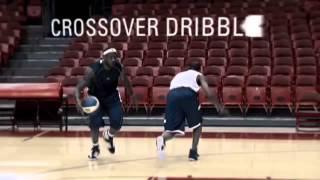 Уроки баскетбола от Джэймса Леброна. Обманное движение и пас