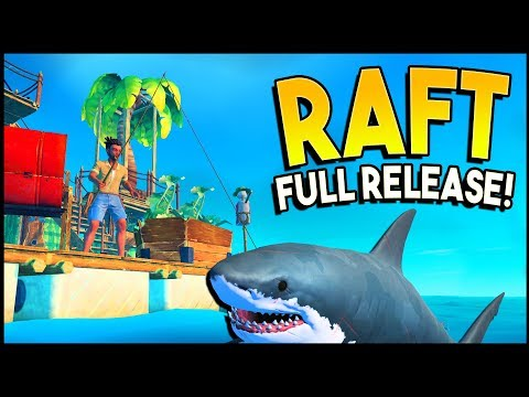 RAFT HAS RETURNED! Huge Update With New SECRETS, New Islands, Sailing, New Shark! - Raft Gameplay