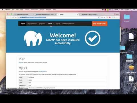 How To Install WordPress Locally on Mac OSX