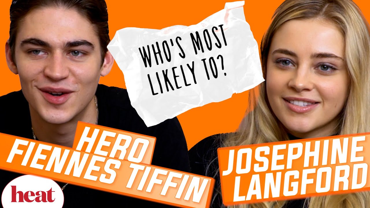 Download 'I'm guilty of not replying to the After group chat' | Hero Fiennes Tiffin & Josephine Langford