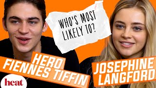 'I'm guilty of not replying to the After group chat'   Hero Fiennes Tiffin & Josephine Langford Thumb