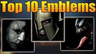 Top 10 Emblems in Black Ops 4 (BO4 Best Emblems)