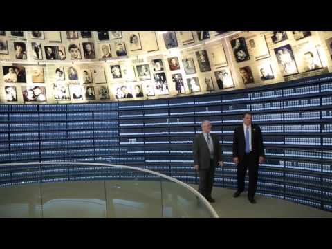 Governor Andrew Cuomo visits the Hall of Names