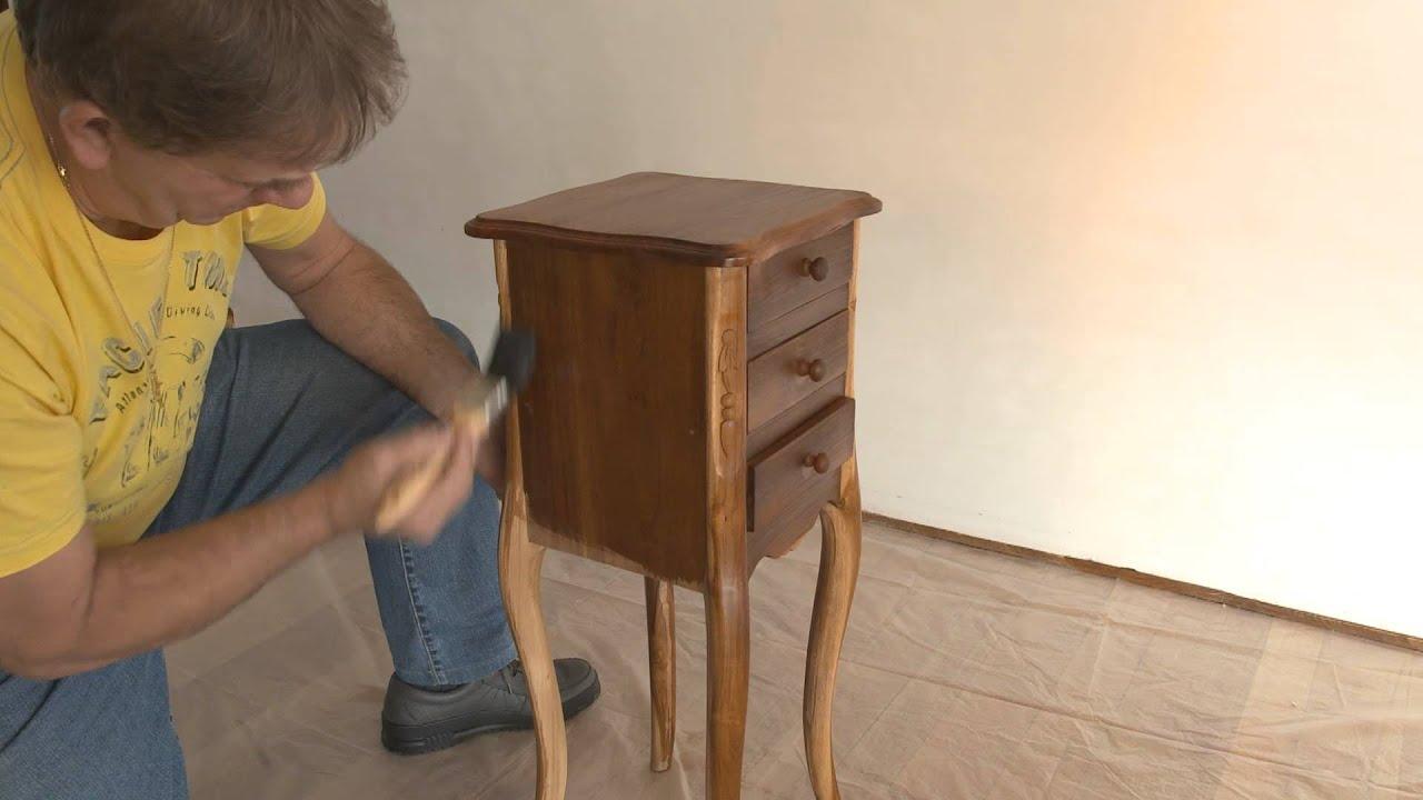 comment allez vous vernir un meuble avec du vernis meuble teinte de xyladecor