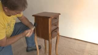 Comment allez-vous vernir un meuble avec du Vernis Meuble teinté de Xyladecor ?