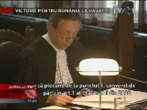 Decizie istorica la Haga Curtea Internaionala a decis in favoarea Romaniei