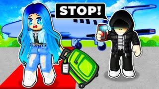 They won't let me leave... Roblox Airplane Story 4!