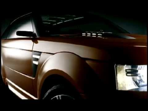 Land Rover Range Stormer - Concept.