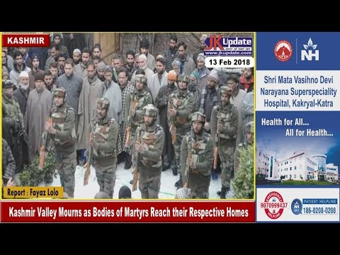 Kashmir Valley Mourns as Bodies of Martyrs Reach their Respective Homes