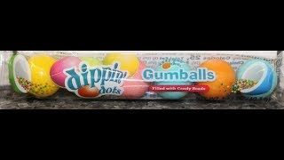 Dippin' Dots Gumballs Filled with Candy Beads Review