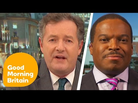 Piers Morgan Fumes At Democrat For Comparing Trump To Hitler   Good Morning Britain