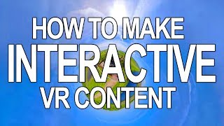 How To Make Interactive VR 360 for Free