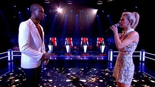 Karis Thomas vs NK: Battle Performance - The Voice UK 2015 - BBC One