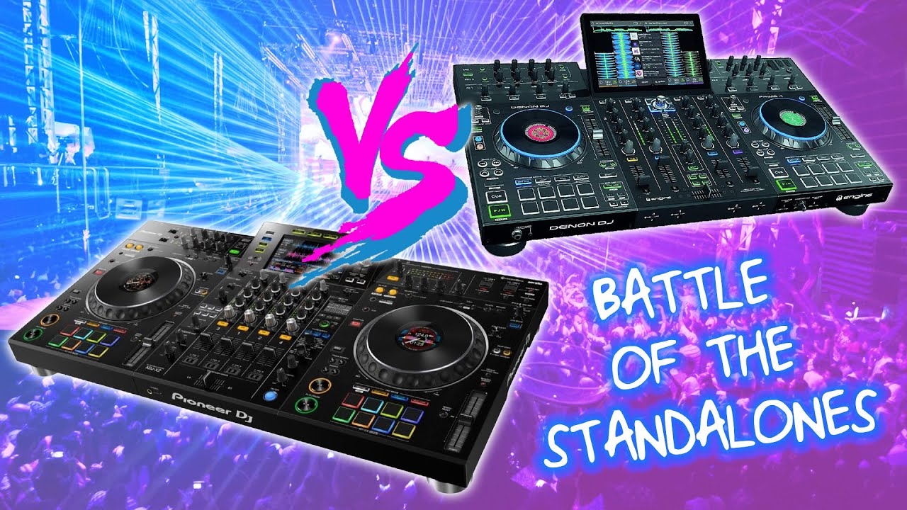 Battle of the Standalones: Pioneer DJ XDJ-XZ Vs Denon DJ Prime 4