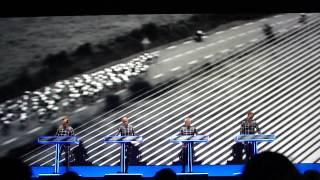 Kraftwerk - Tour De France Etape 2 - Live Lyon 2014 HD