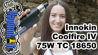 Обзор набора Innokin Coolfire IV 75W TC 18650(Спасибо сайту http://www.innokin.com/ за предоставленные образцы. Купить COOLFIRE IV Kit: ..., 2016-08-12T07:45:28.000Z)