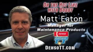 Bobby Likis Shares the Mic With Matt Eaton of Denso Auto Parts