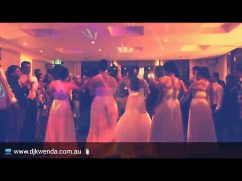 Wedding group dance to The Time (Dirty Bit) by The Black Eyed Peas with DJ Kwenda