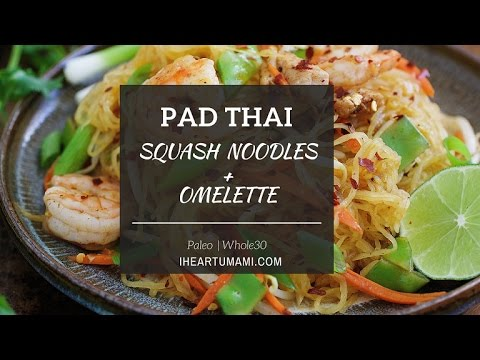 Paleo Pad Thai Noodle Omelette ! - YouTube