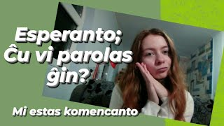 Esperanto post 3 monatoj - After 3 months