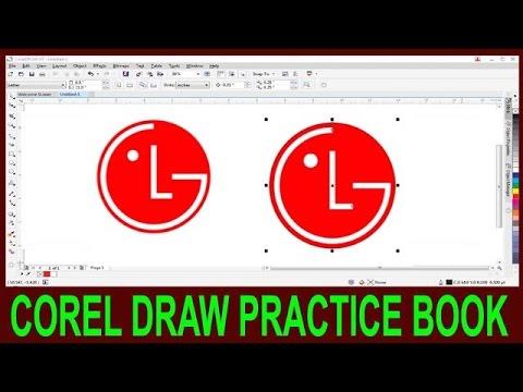 How To Make Logo In Corel Draw || Corel Draw LG Logo Degine In Hindi ||
