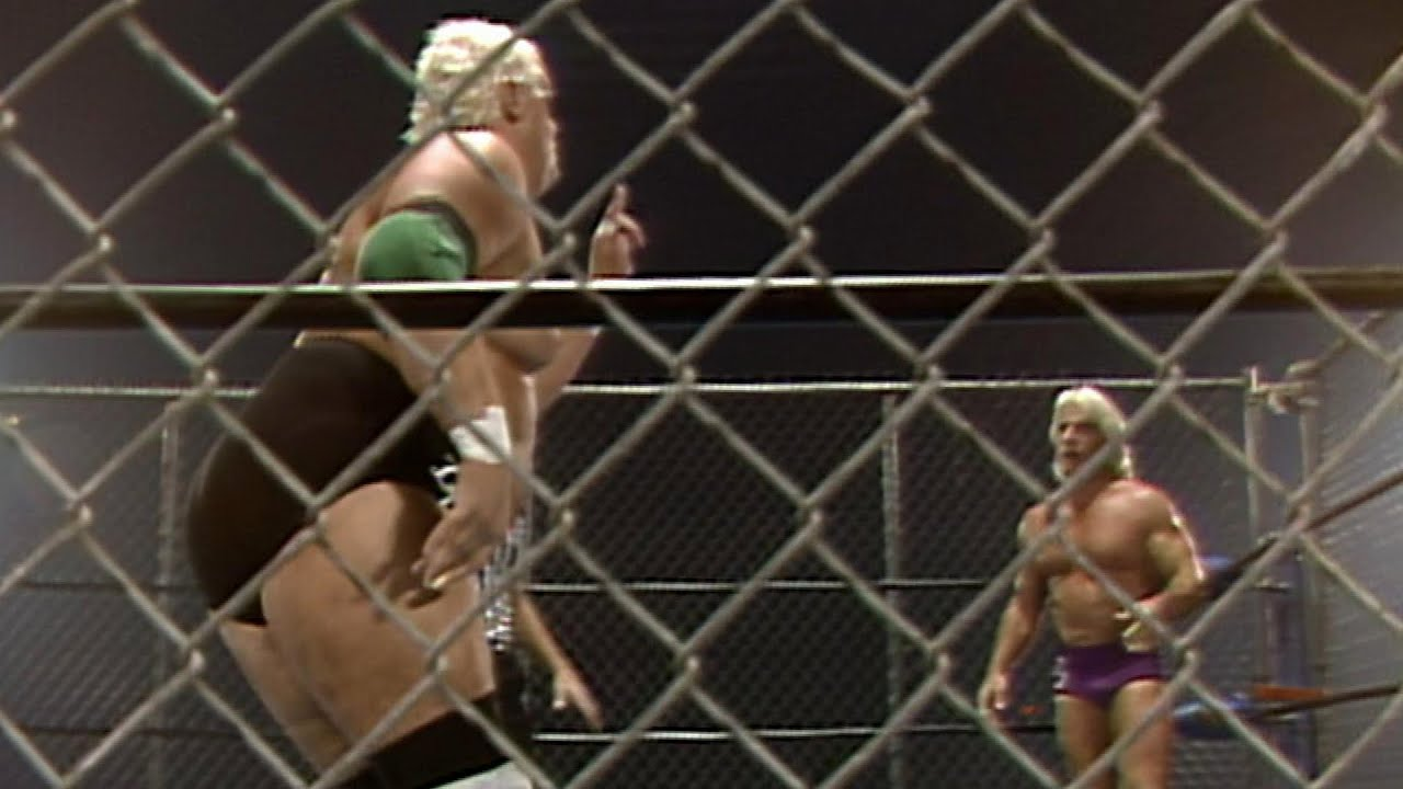 Ric Flair and Dusty Rhodes in Hidden Gem clash for the World Heavyweight Title