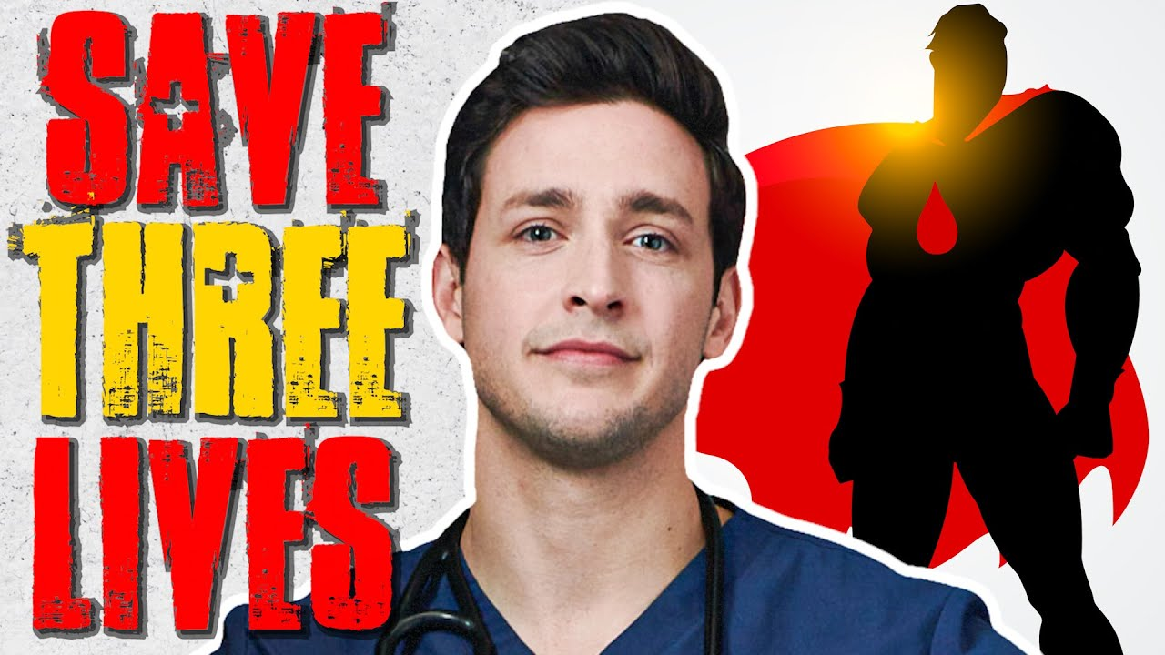 How to Save Three Lives On Your Lunchbreak | Doctor Mike
