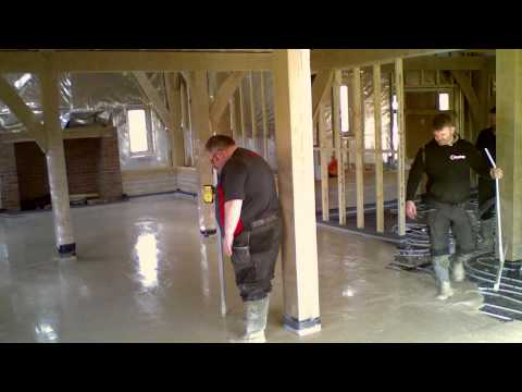Heating and Screed provide underfloor heating and liquid screed services.
