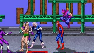 Spider-Man: The Video Game arcade 4 player Netplay 60fps