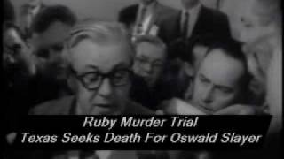 Ruby Murder Trial - Texas Seeks Death For Oswald Slayer