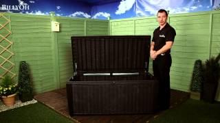 Keter Sumatra Rattan Style Storage Box