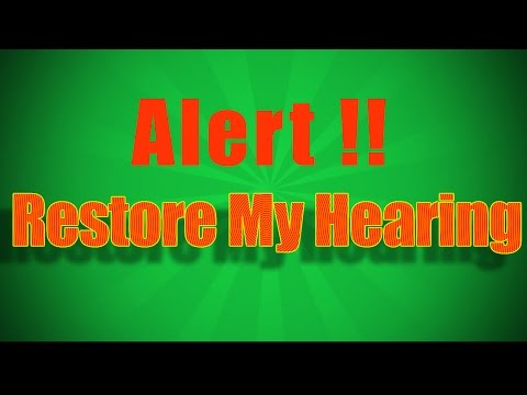 Restore My Hearing Review | Learn How To Restore Hair Loss